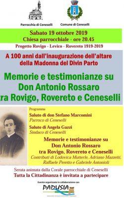 TESTIMONIANZE SU DON ANTONIO ROSSARO